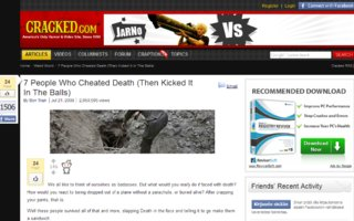 7 people who cheated death | (then kicked it in the balls)
