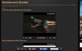 Worst Skateboarding accidents | jeps