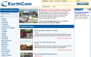 Earthcam webkameroita maailmalla | Through EarthCam's LIVE webcams, you can see the hustle and bustle of Times Square, catch the action on the Vegas Strip, watch a sunrise over London's Big Ben, and enjoy beautiful sunsets in St. Thomas.