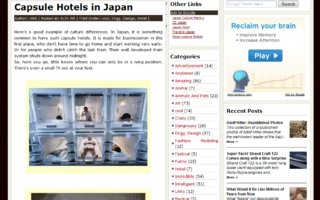 Capsule Hotels in Japan | In Japan, it is something common to have such capsule hotels.