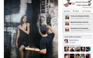 Amazing Realistic Wall Drawings | Wall paintings are from all times. From pre-history till today wall paintings are made