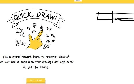 Quickdraw with Google