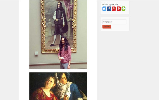 People Who Unexpectedly Met Their Doppelgängers In Museums